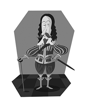 Cartoon of Charles I